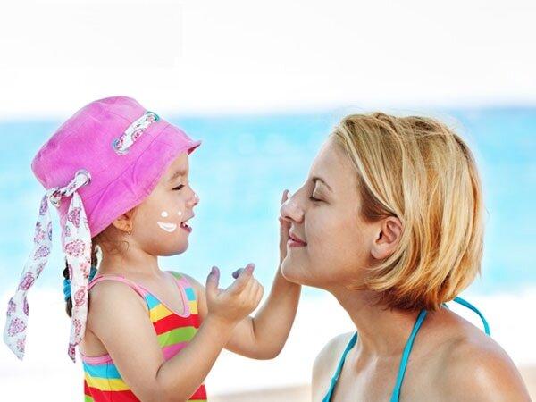 Chọn kem chống nắng cho trẻ em theo thành phần kem