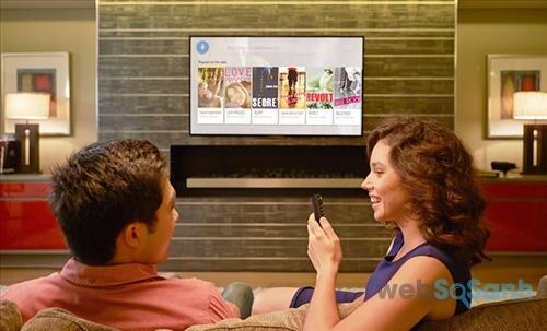 Android tivi Sony hỗ trợ tìm kiếm bằng giọng nói