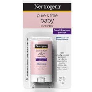 Neutrogena Pure & Free Baby Sunscreen Stick SPF 60+