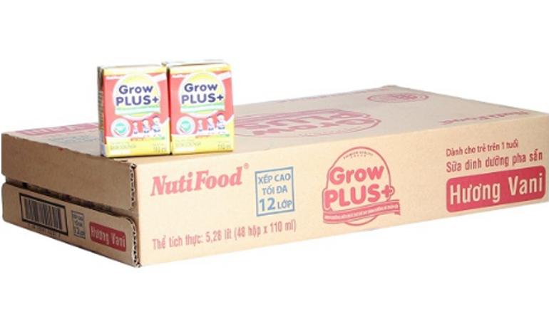 Sữa bột Nuti Grow Plus đỏ pha sẵn có tốt không ?