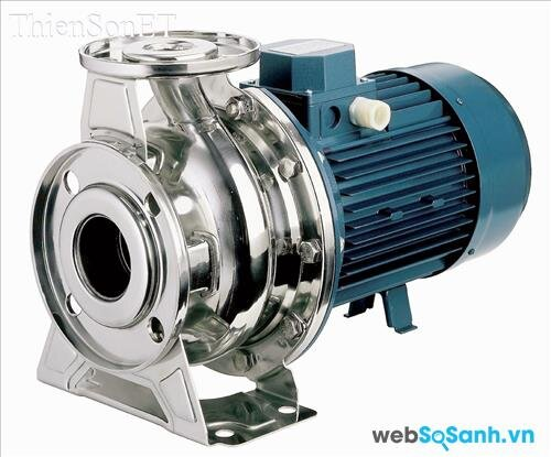 Các loại máy bơm nước: Máy bơm cánh quạt
