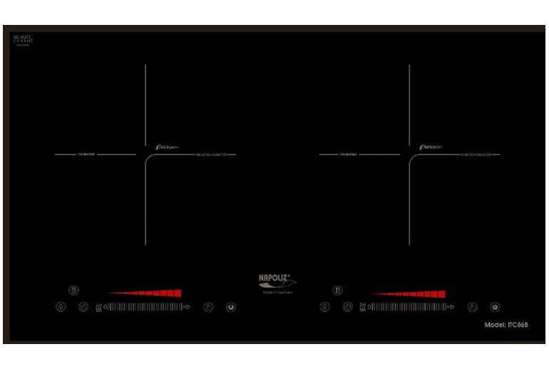 Bếp từ Napoliz inverter ITC868 - Giá giảm 10% chỉ còn 20.500.000 vnđ