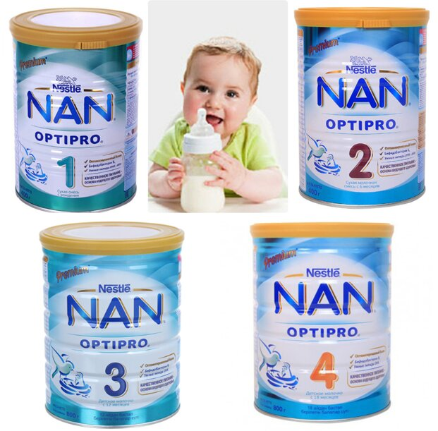 Sữa Nan Nga tốt cho hệ tiêu hóa của trẻ nhỏ