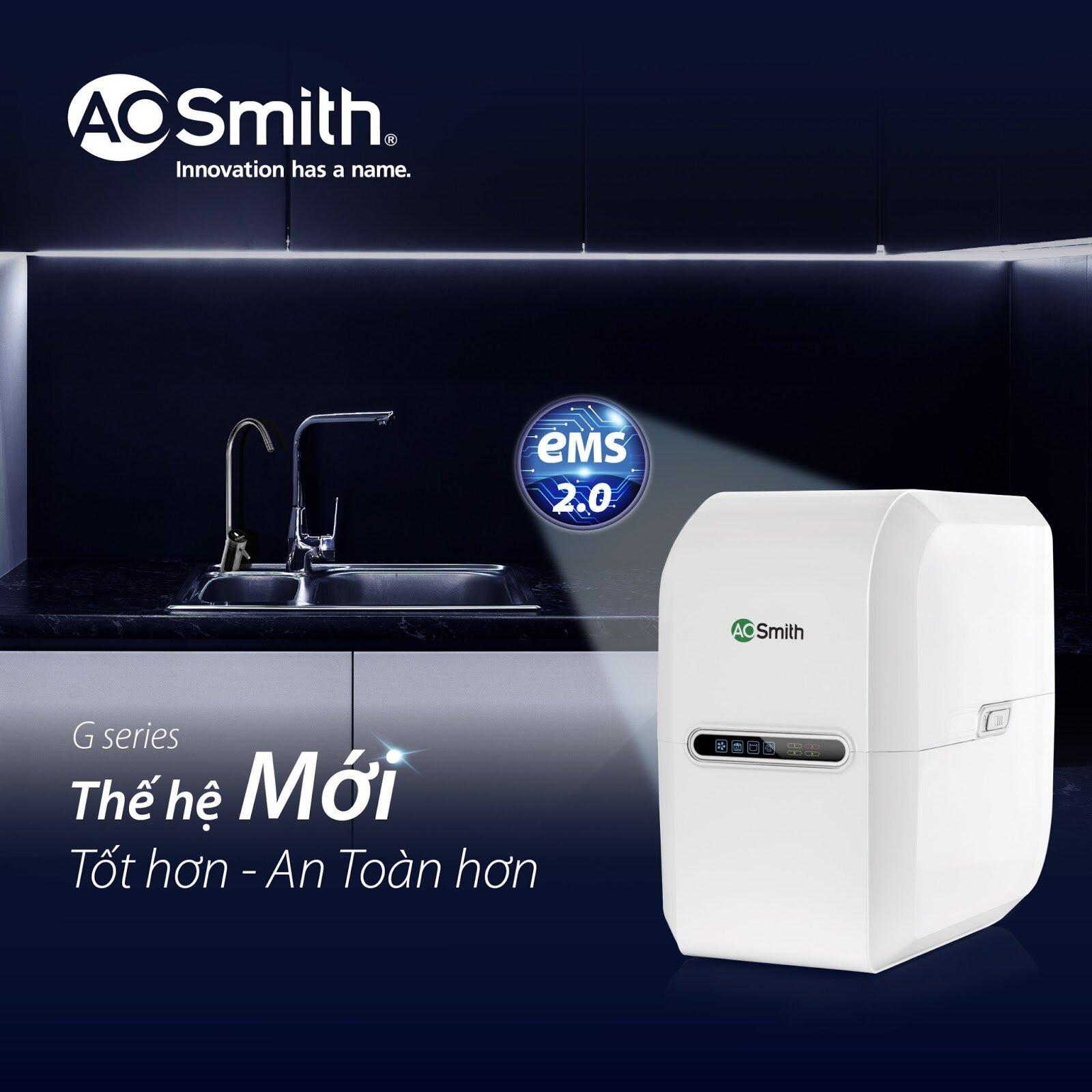 Máy lọc nước A. O. Smith G2 sở hữu nhiều tính năng ưu việt