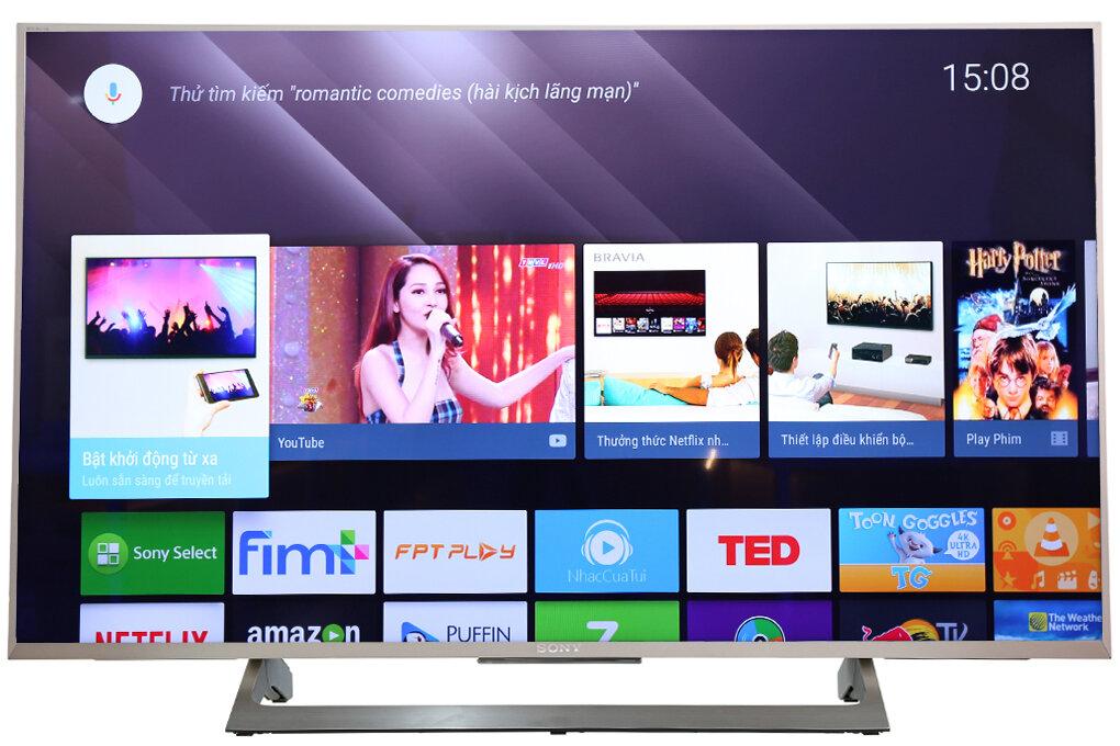 Smart TV Sony sở hữu các tính năng nổi bật không thua gì chiếc điện thoại thông minh
