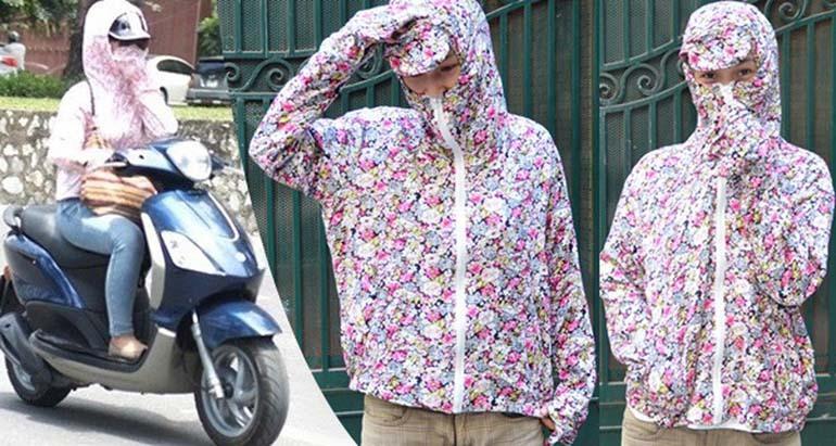 kinh nghiệm mua áo chống nắng