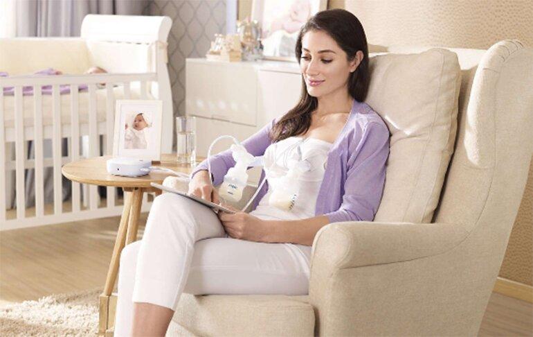 Máy hút sữa điện đôi Philips Avent