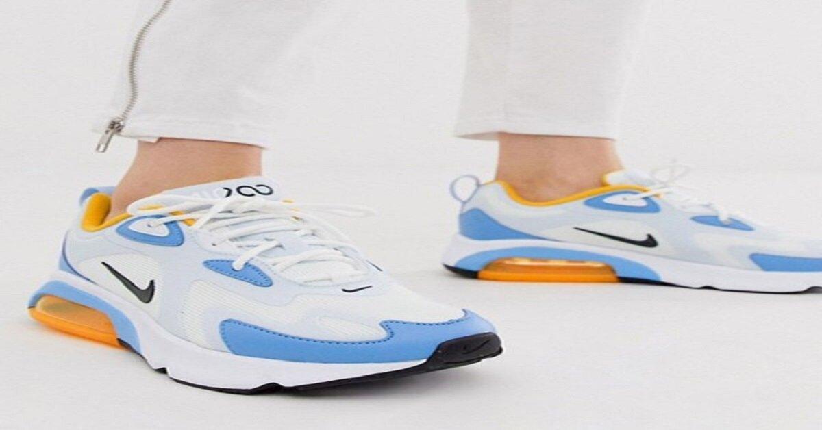 giày thể thao nike phối màu
