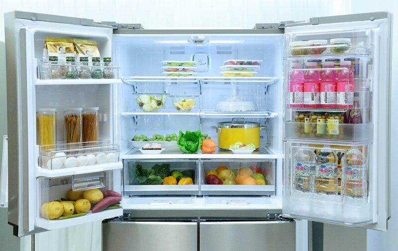 Sắp xếp đồ ăn trong tủ lạnh hợp lý giúp tăng thời gian bảo quản