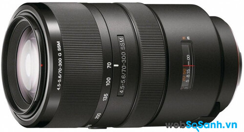 Ống kính Sony Sal 70-300mm G f / 4,5-5,6 G SSM