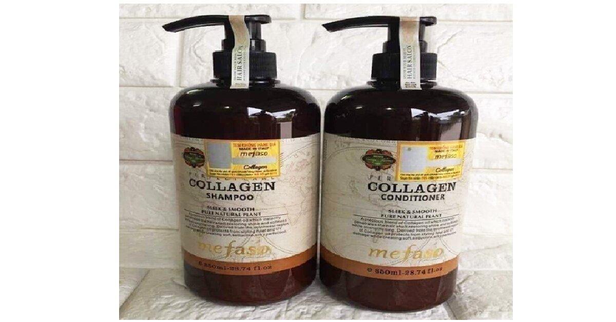 dầu xả tóc collagen