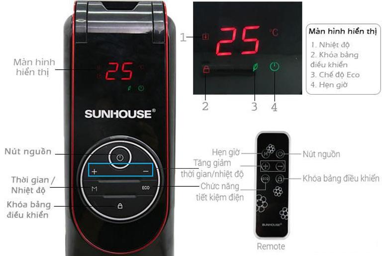 Điều chỉnh nhiệt độ ở mức trung bình sẽ tiết kiệm điện năng
