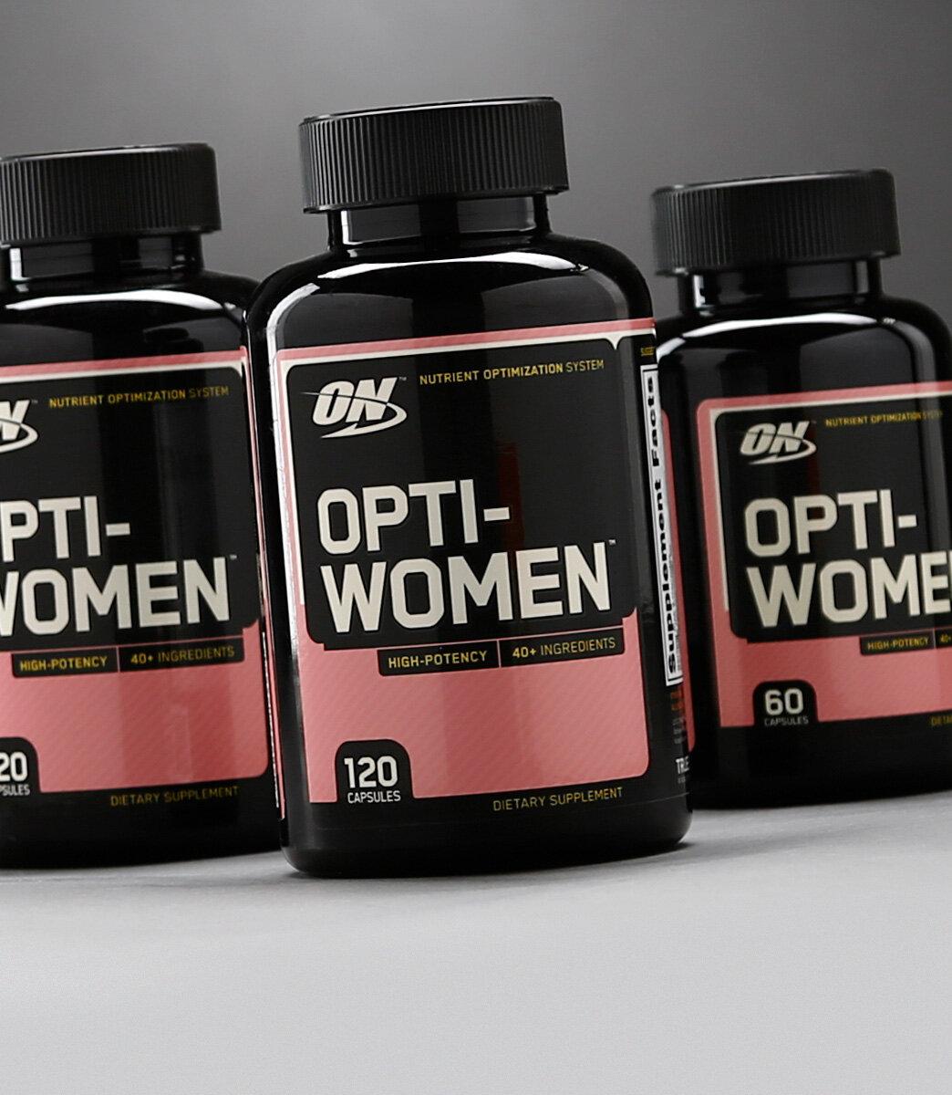 Thực phẩm chức năng Optimum Nutrition Opti-Women cung cấp vitamin tổng hợp