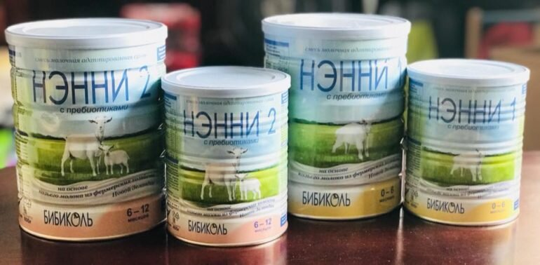 sữa dê Nany Nga Vitacare
