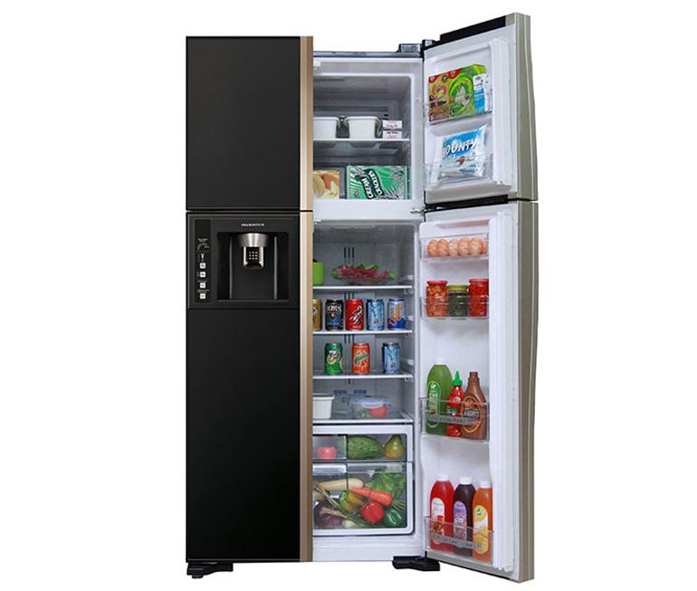 Tủ lạnh Hitachi thướng kế 4 cánh cửa tiện lợi hơn