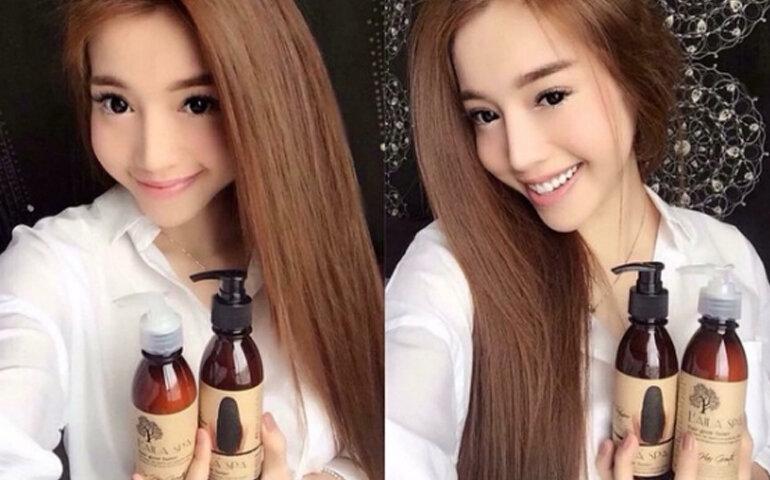 Dầu gội kích thích mọc tóc Laila Spa - Giá tham khảo khoảng 125.000 vnđ - 175.000 vnđ/ chai 200ml