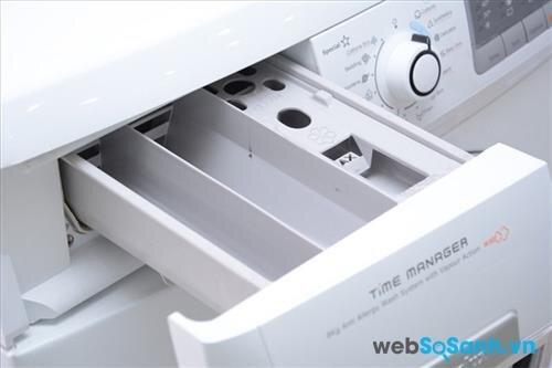 Khoang chứa bột giặt cũng cần được vệ sinh
