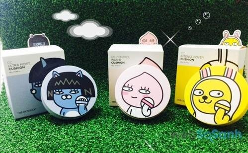 Phấn nước The Face Shop Kakao Friends Cushion