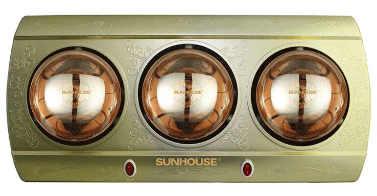 Đèn sưởi 3 bóng Sunhouse SHD3813