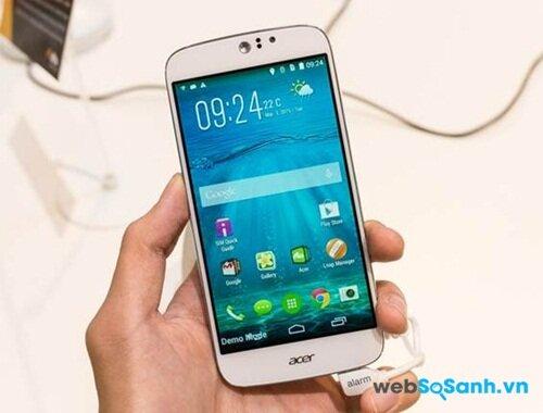 Acer sử dụng công nghệ Zerro Air Gap giúp màn hình Liquid Jade Z sắc nét