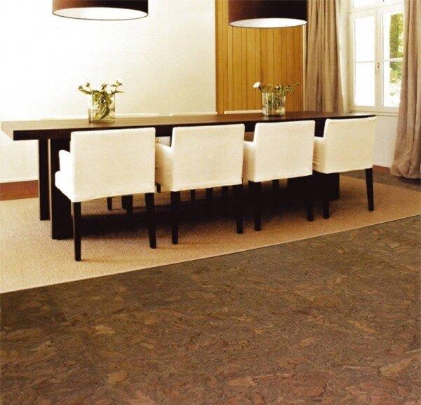 Sàn nhà bằng gỗ Cork