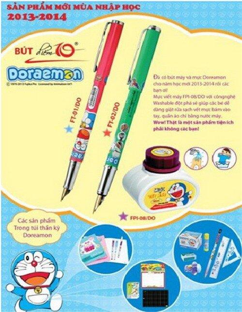 Bộ dụng cụ học tập Điểm 10 được thiết kế theo tiêu của của Bộ Giáo dục.