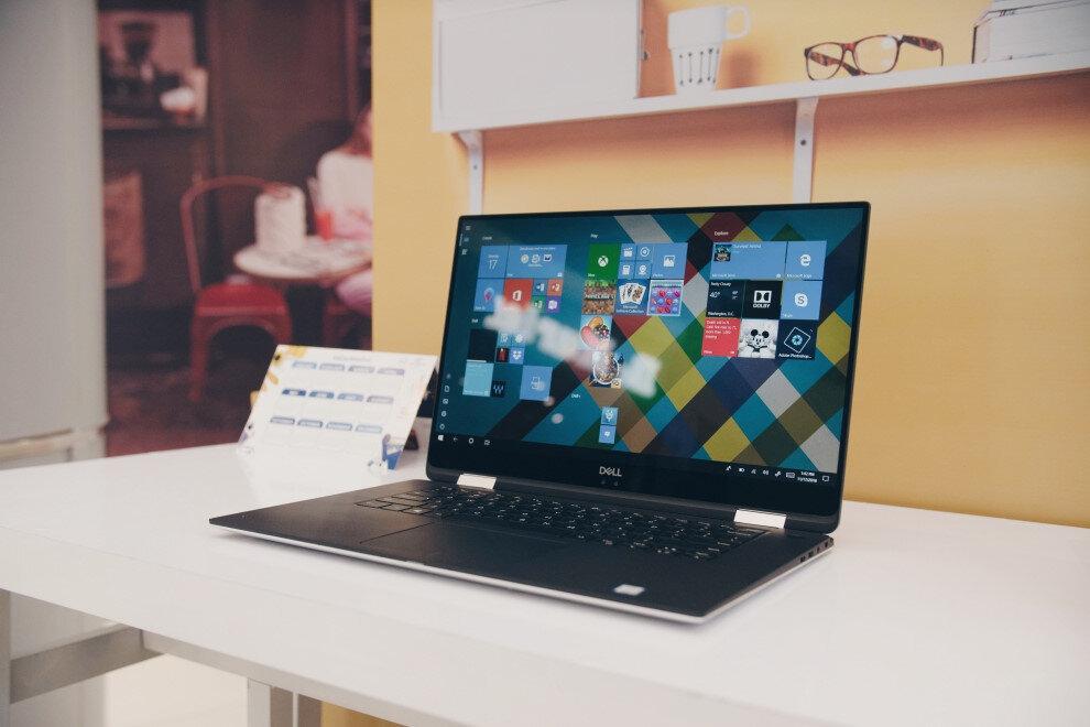 laptop dell có thiết kế hiện đại