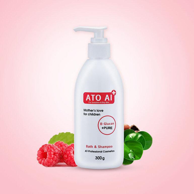 Sữa tắm ATO AI Bath & Shampoo (Nguồn: dktcdn.net)