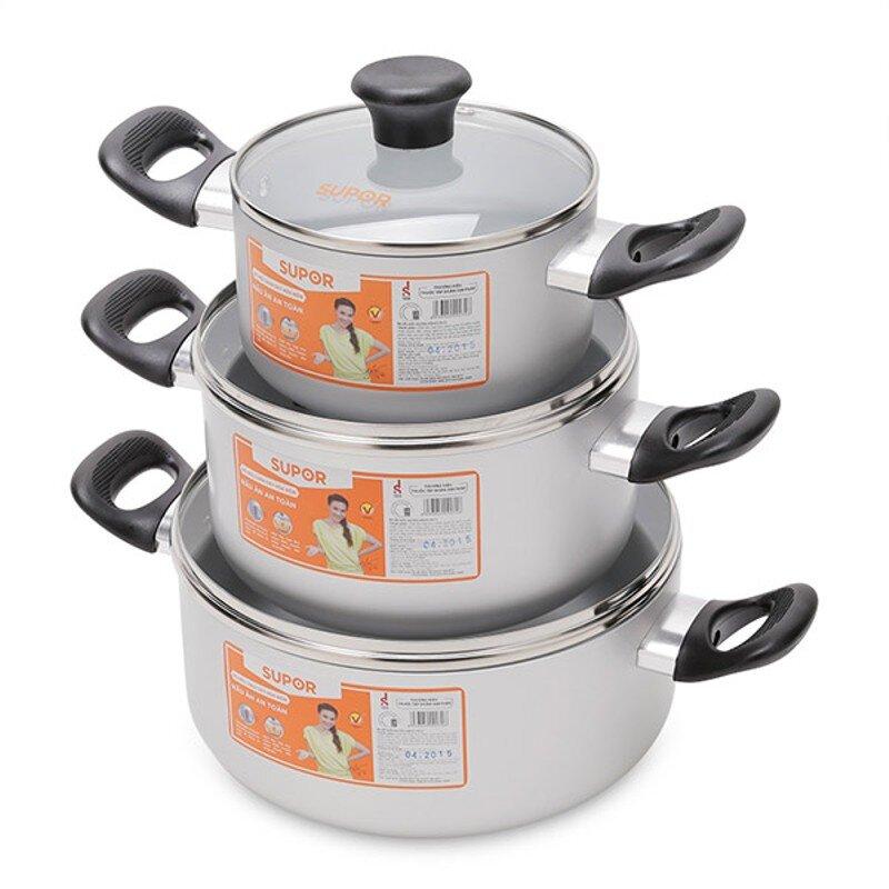 Bộ nồi canh Supor S17AT1 giúp tối ưu hiệu quả nấu nướng