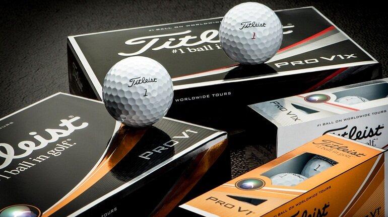 Bóng chơi golf Titleist Pro V1X 2019