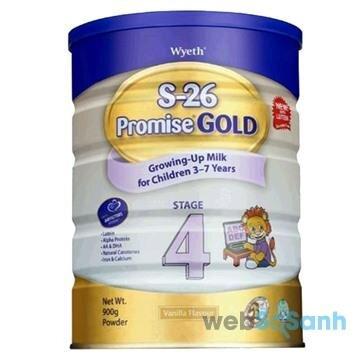 Sữa bột tăng cân cho bé S26 Promise Gold