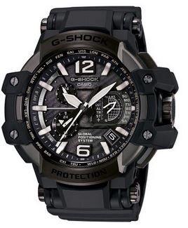 Casio G-Shock Gravity Master Black Dial Multi Solar Watch GPW1000T-1A