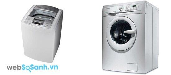LG WFS1215TT và Electrolux EWF8555 (nguồn: internet)
