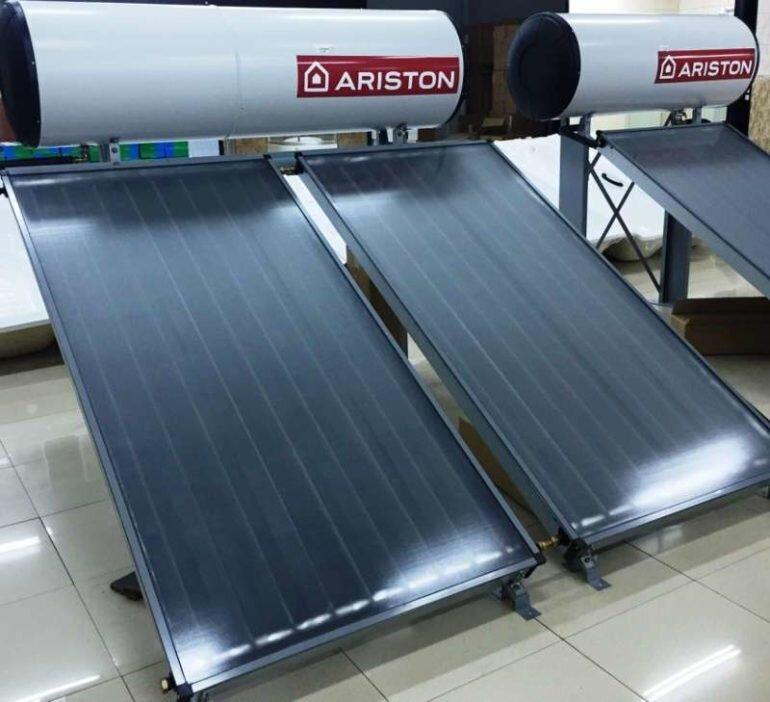 Bình nóng lạnh năng lượng mặt trời Ariston