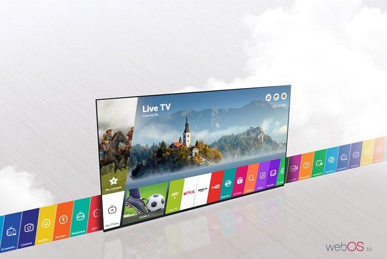 Smart tivi LG 49 inch 49LJ550T