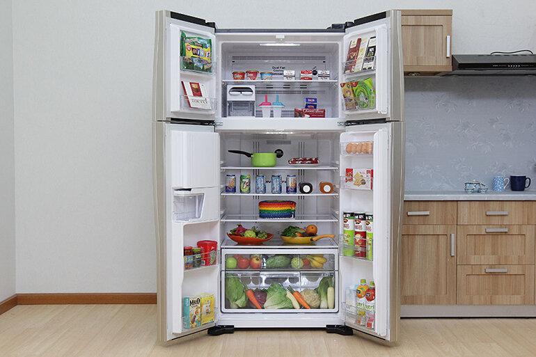 Tủ lạnh hitachi 4 cánh có nhiều công nghệ hiện đại.
