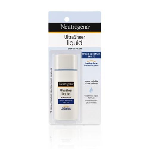 Neutrogena Ultra Sheer Liquid Daily Suncreen SPF 70