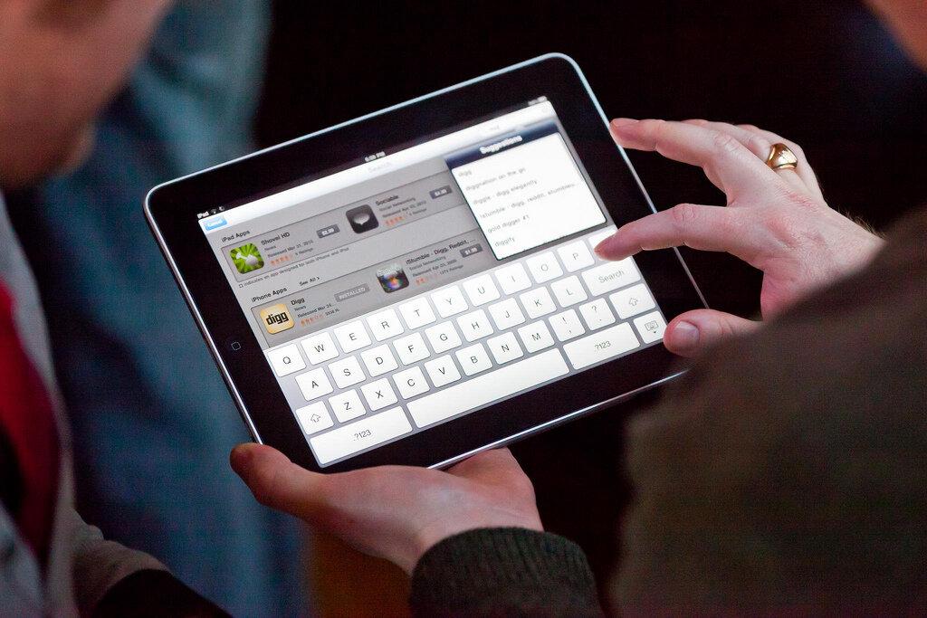 Bàn phím ảo lớn hơn dễ dàng thao tác hơn
