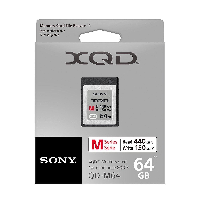 Thẻ nhớ máy ảnh XQD Sony 64GB 440MB/S