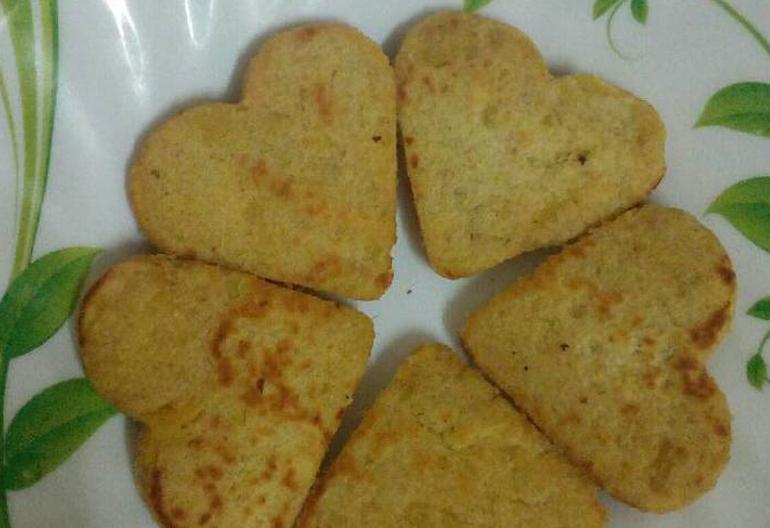 Cách làm bánh ăn dặm khoai lang yến mạch cho bé