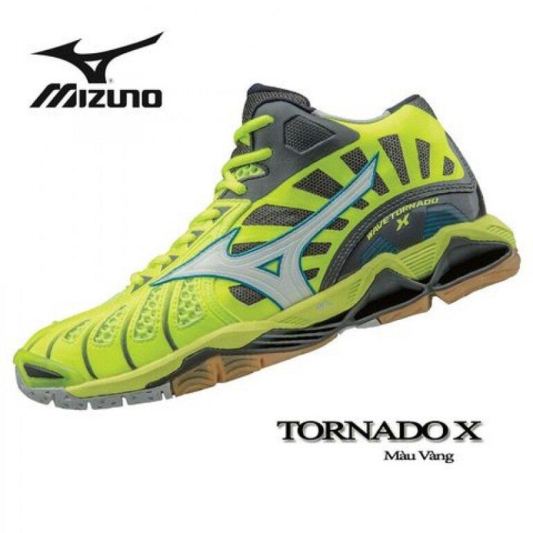 Giày bóng chuyền Mizuno chính hãng Wave Tornado X