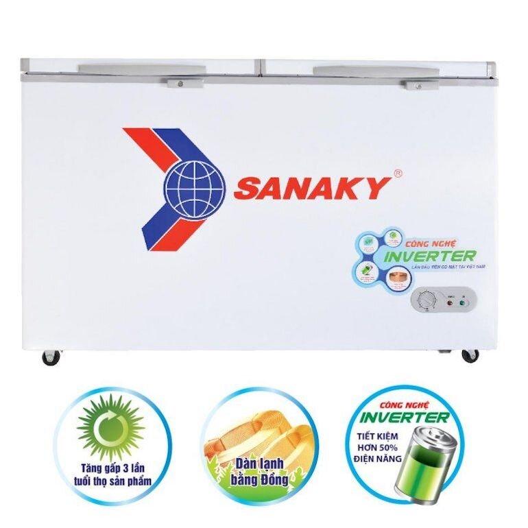 Tủ đông Sanaky 1 ngăn đông 1 ngăn mát VH-3699W3