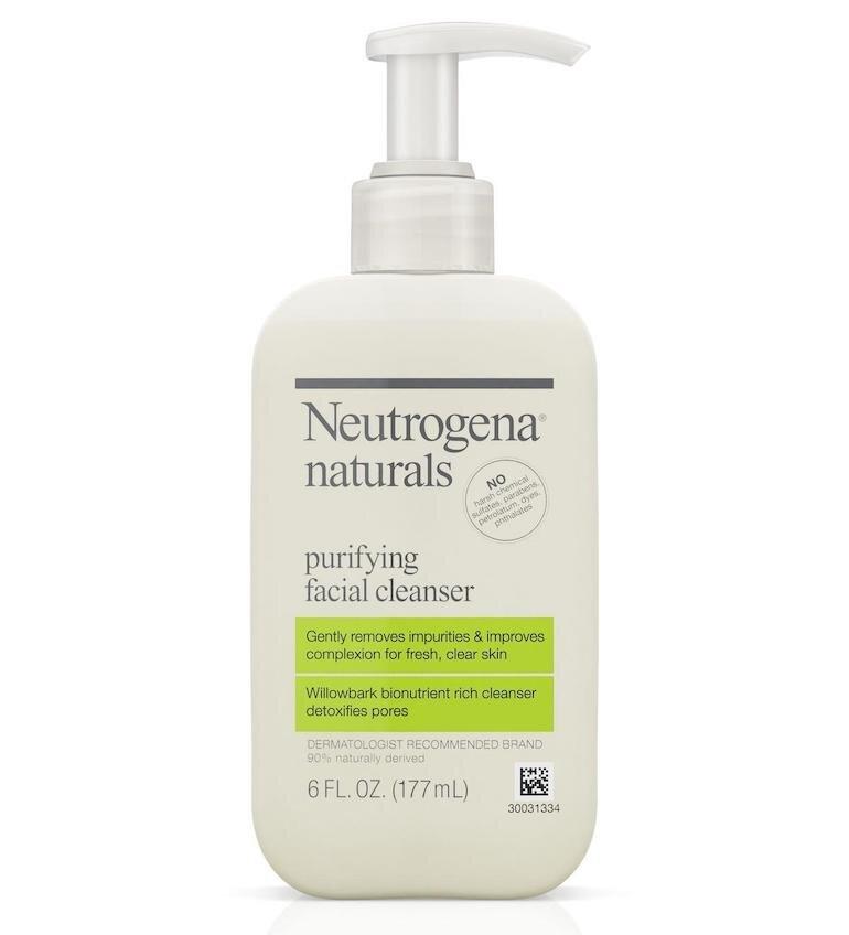 Sữa rửa mặt Neutrogena Naturals Purifying Facial Cleanser