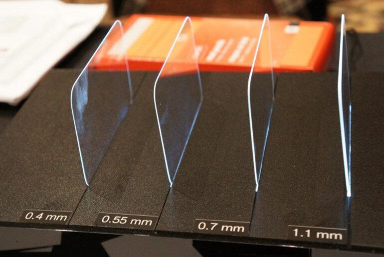 Kính cường lực Gorilla Glass chịu được áp lực cao từ tác động ngoại lực