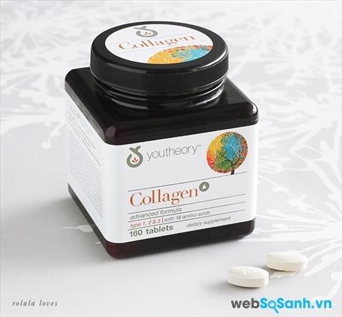 Viên uống bổ sung collagen Youtheory