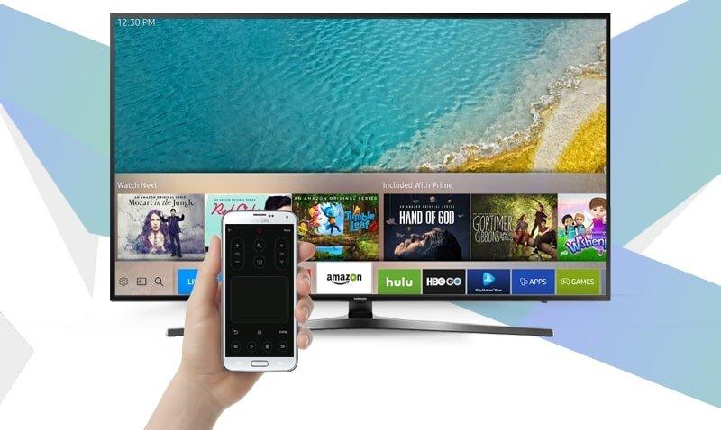 Kết nối Wifi cho tivi Samsung của bạn từ điện thoại di động