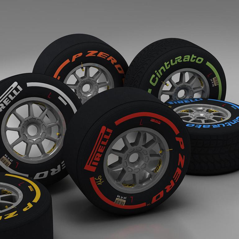 Lốp xe quyết định một phần thành công của các tay đua