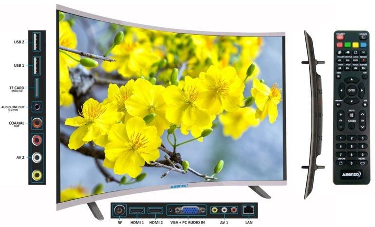 Smart Tivi cong Asanzo AS32CS6000 (AS-32CS6000) - 32 inch - Giá tham khảo từ 3.600.000 vnđ - 4.699.000 vnđ