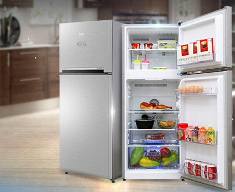 tủ lạnh Bekoinverter200 lít RDNT200I50VS