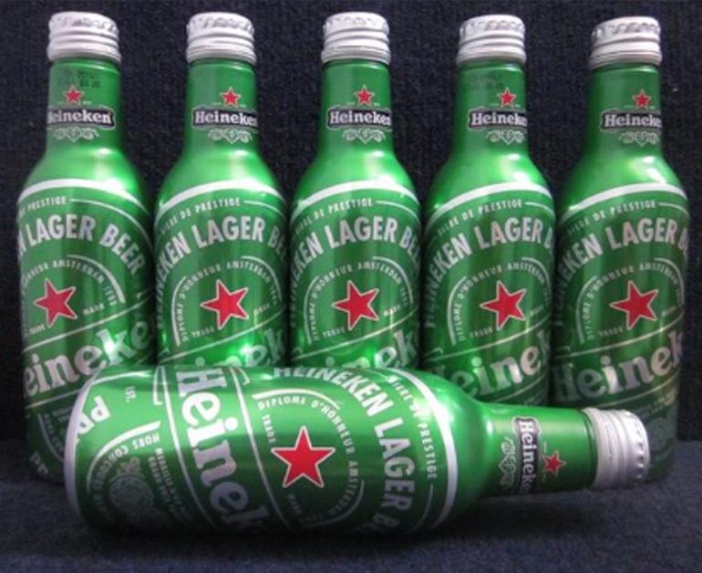 bia Heineken Pháp chai nhôm 330ml nhập khẩu